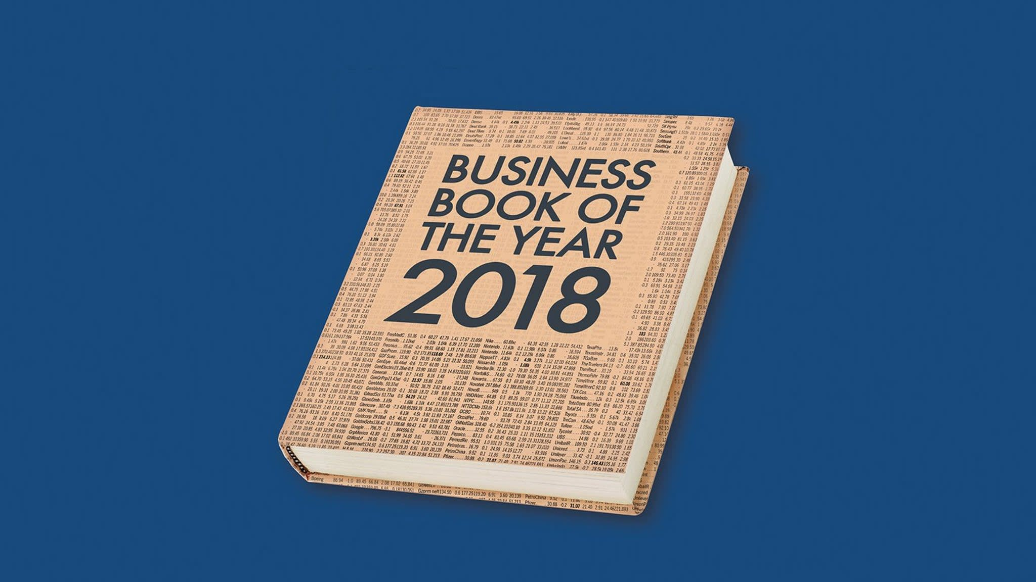 Ft Mckinsey Business Book Of The Year 2018 Financial Times