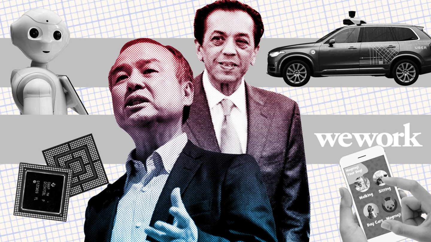 SoftBank: inside the 'Wild West' $100bn fund shaking up the tech