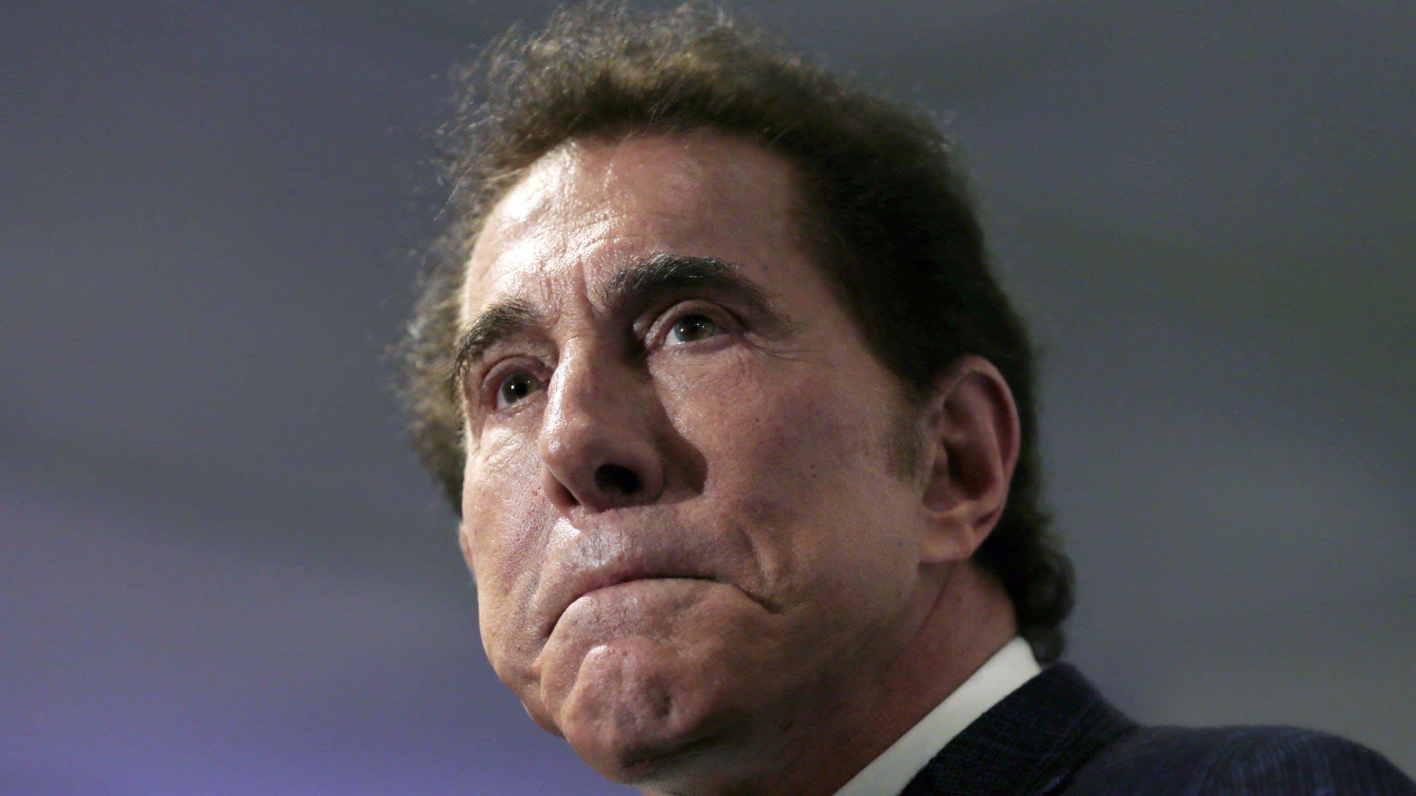 Steve Wynn resigns as head of Wynn Resorts