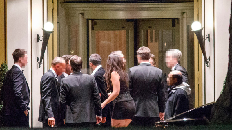 fd29ad5b838 Men Only: Inside the charity fundraiser where hostesses are put on show