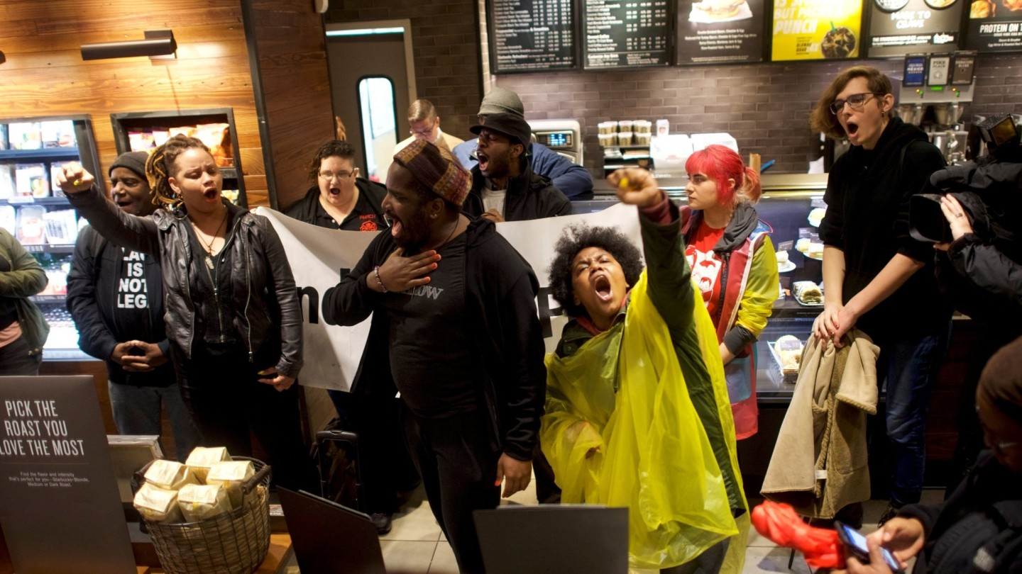 Starbucks Americas Culture Wars Come To The Caf Financial Times