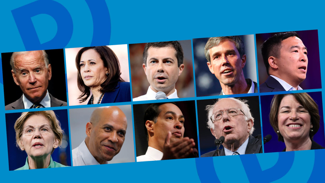 US Democratic primary debate: who are the candidates