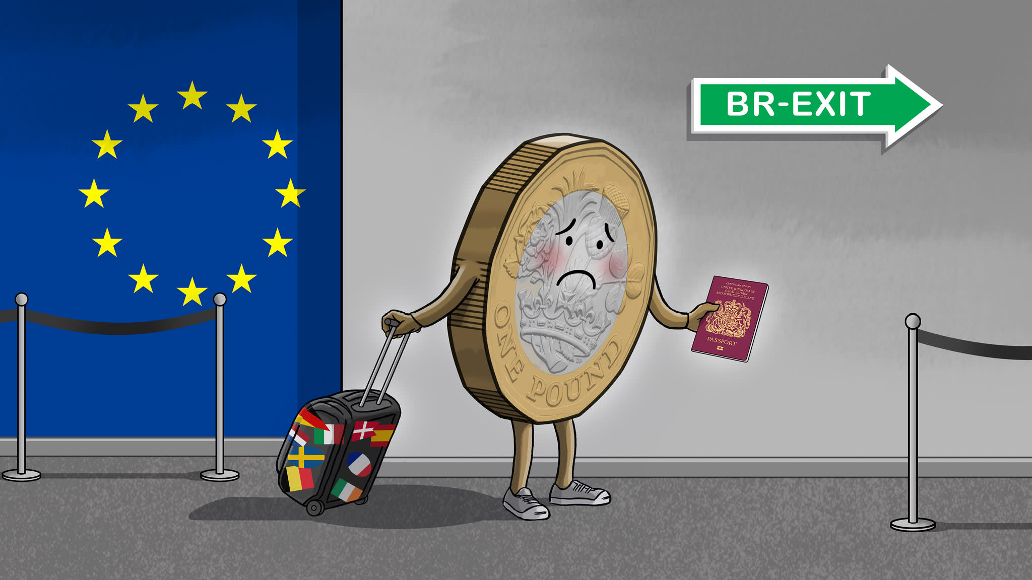 Image result for brexit deal or no deal cartoons