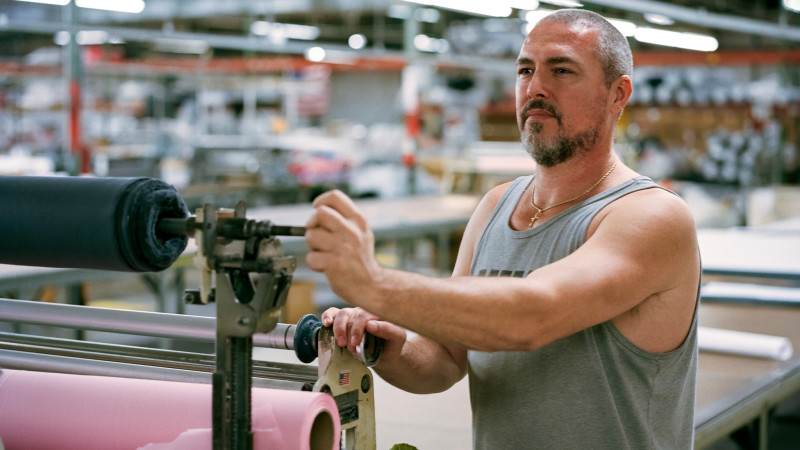 8ca0477d797 Made in the USA  inside one company s all-American supply chain. American  Giant makes all its clothing ...