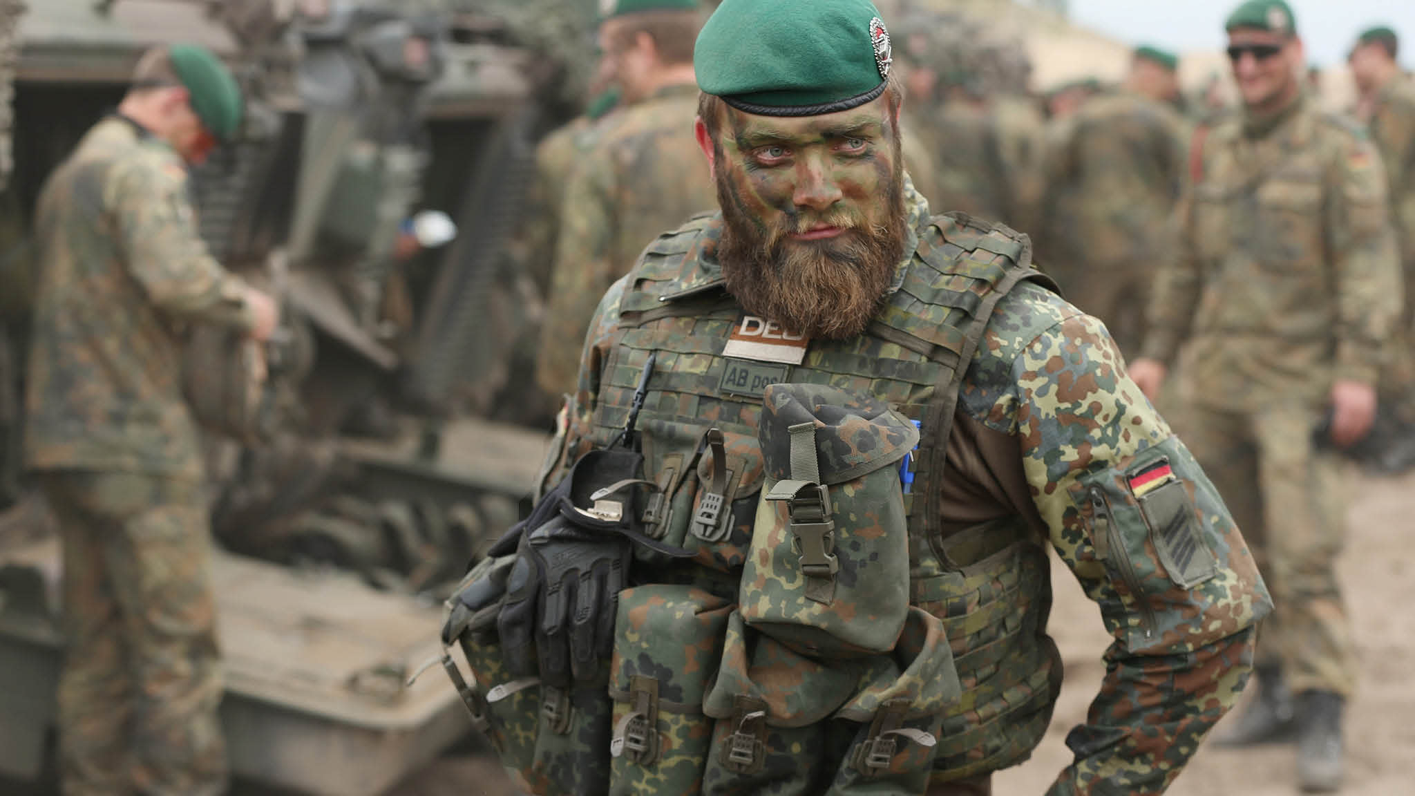 German military: combat ready?