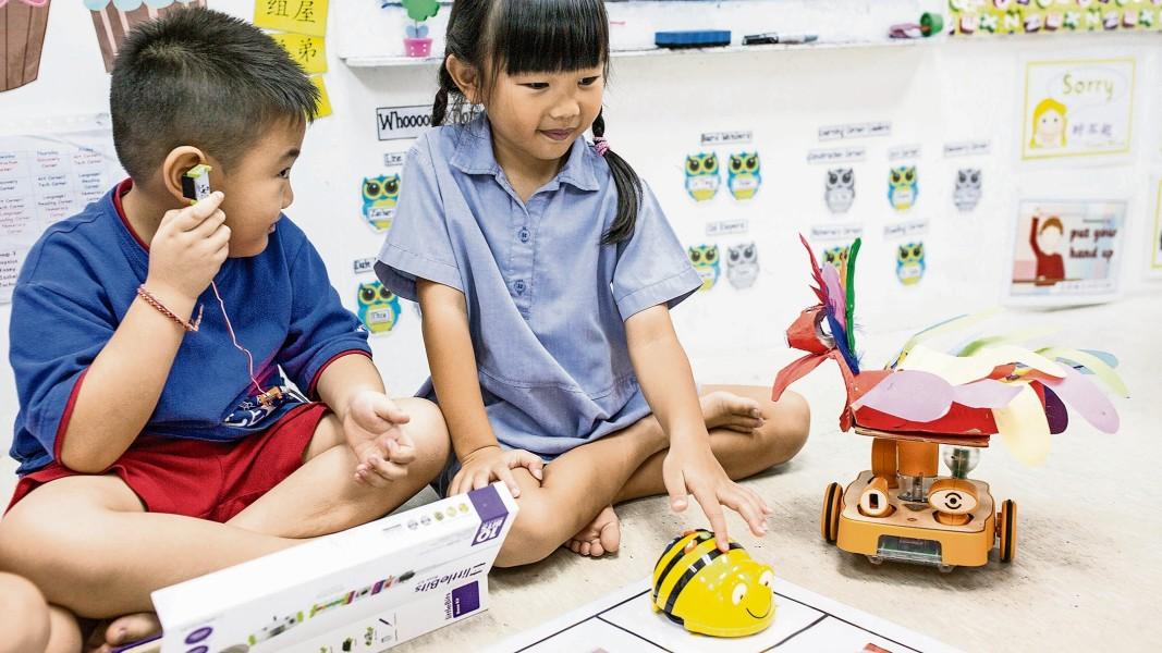 How robots are teaching Singapore's kids | Financial Times