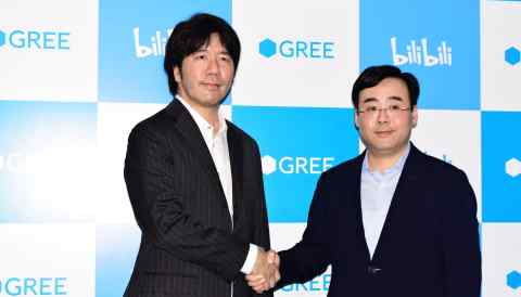Gree hopes to cater to strong demand in China for Japanese anime and games through a tie-up with Bilibili. (Photo by Yoshino Sakurai)