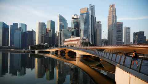 Singapore, a Southeast Asian financial and legal hub, aims to connect infrastructure builders with experts and financiers.