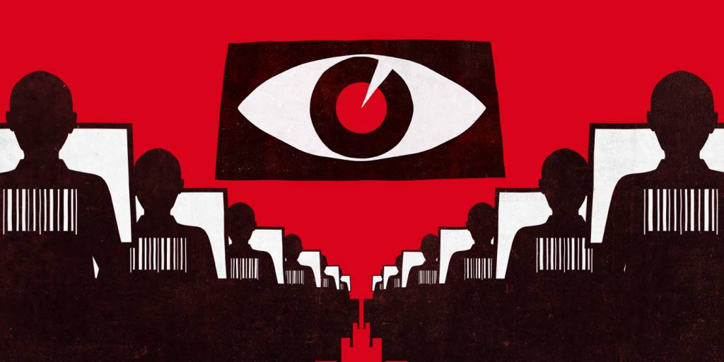Most of his hours were spent on a piece of surveillance software called DiSanZhiYan, or