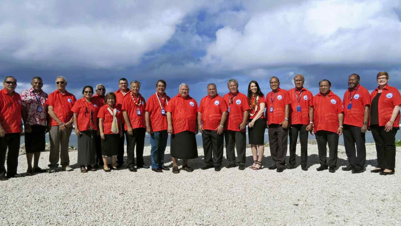 Pacific Islands Forum leaders convened Wednesday on the island nation of Nauru.