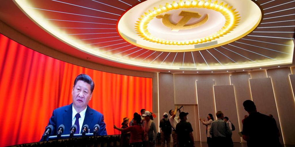 In China's Communist Party, white collars now outnumber blue