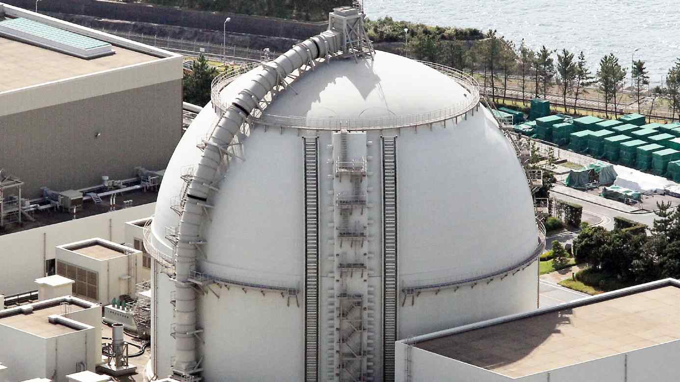 Kyushu Electric Power's Genkai nuclear power plant is one of the few now operating in Japan that can use mixed-oxide fuel, which includes plutonium.