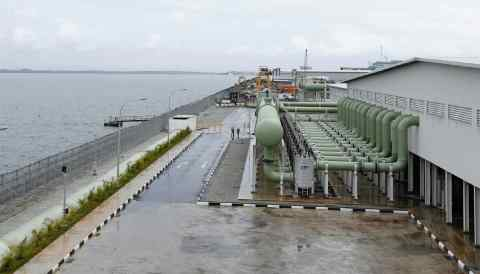 Singaporean water treatment company Hyflux aims to sell the city-state's biggest desalination plant, Tuaspring. (Photo provided by Singapore Public Utilities Board)