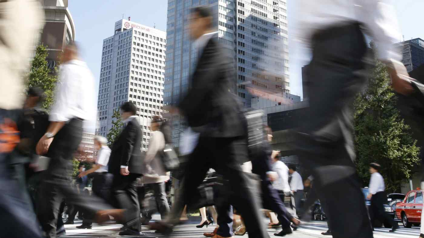 Japan's economy is now in its 73rd month of recovery, thanks to strong wages and corporate earnings. (Photo by Yuichiro Takagi)