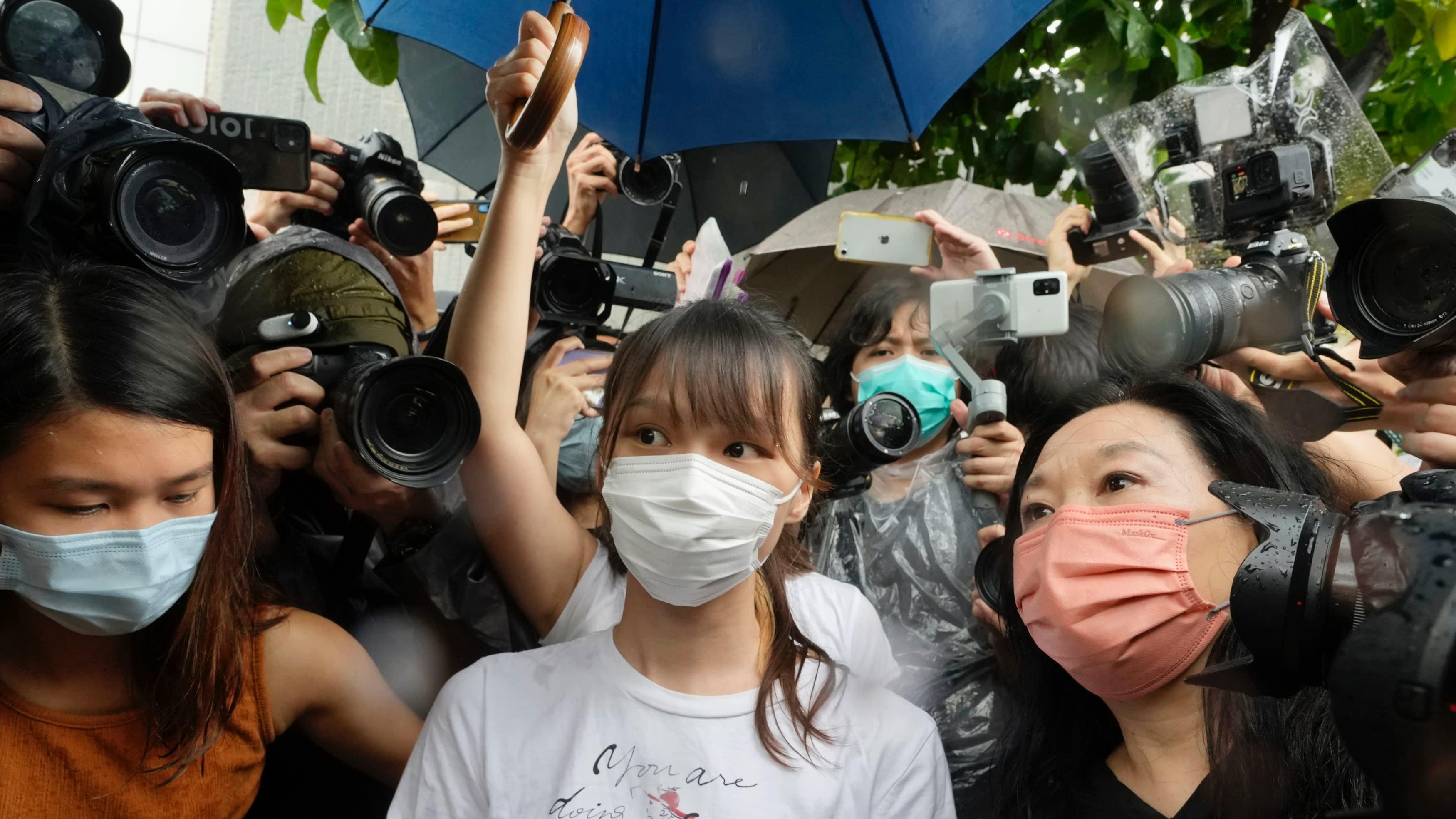 Agnes Chow released from Hong Kong prison -                         Nikkei Asia                         ArrowArtboardArtboardTitle ChevronTitle ChevronIcon FacebookIcon LinkedinIcon Mail ContactPath LayerIcon MailPositive ArrowIcon PrintIcon Twitter