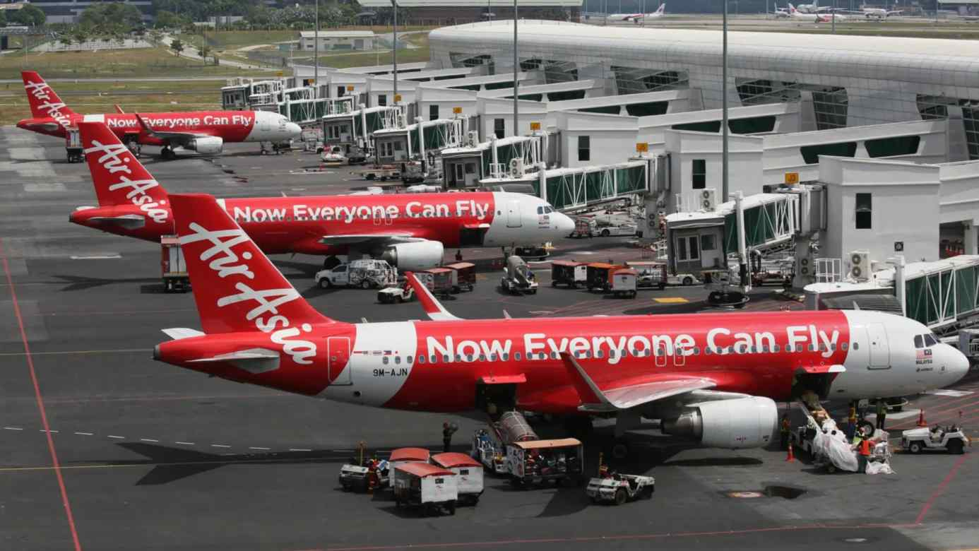 Although AirAsia throughout Southeast Asia, but faces stiff competition outside its home turf of Malaysia. (Photo by Keiichiro Asahara)