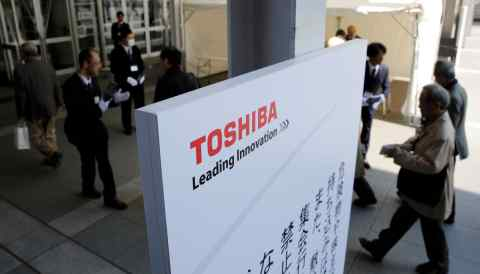 Toshiba shareholders will elect directors at a general shareholders meeting scheduled for late June.