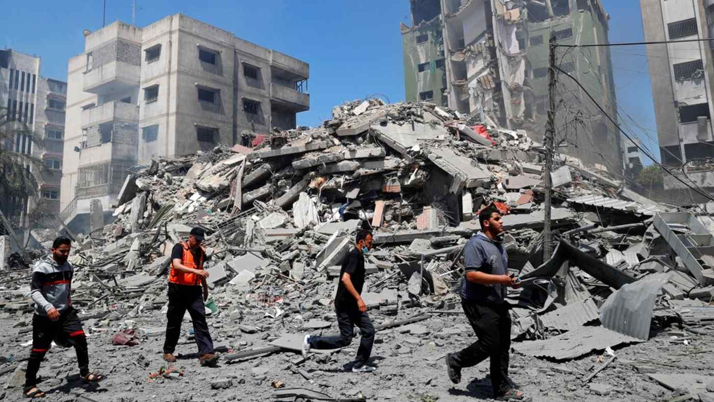 Gaza-Israel conflict shakes foundations of Middle East coexistence - Nikkei  Asia