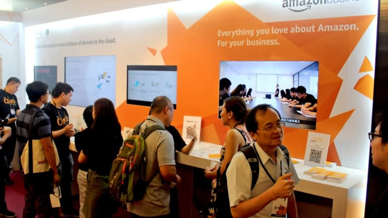Amazon Web Services highlighted examples of its cloud services at work in its debut at Computex Taipei.