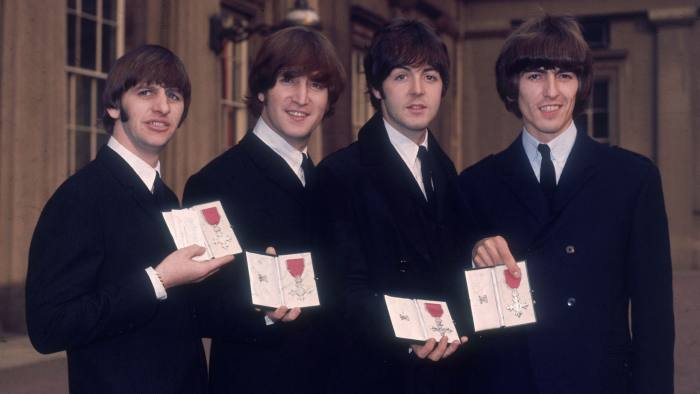 British pop group The Beatles