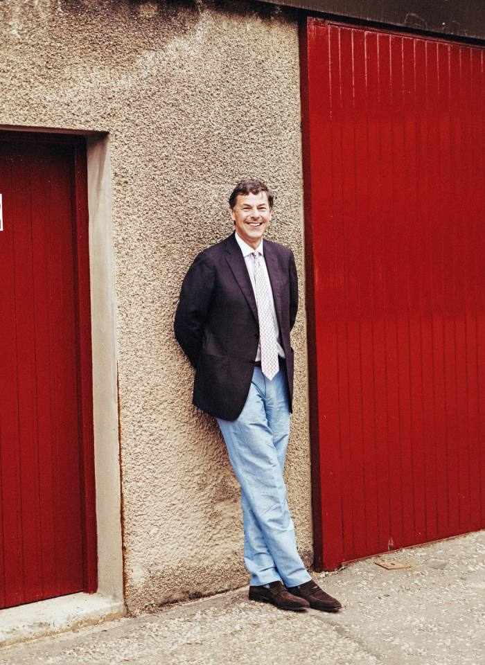 Dr Bill Lumsden, Glenmorangie's director of distilling, whisky creation and whisky stocks
