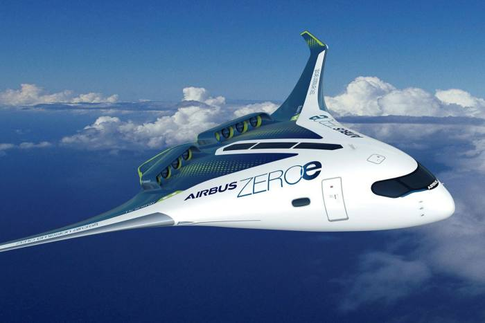 Airbus is planning to have a zero-emission, hydrogen-powered aircraft ready for service by 2035
