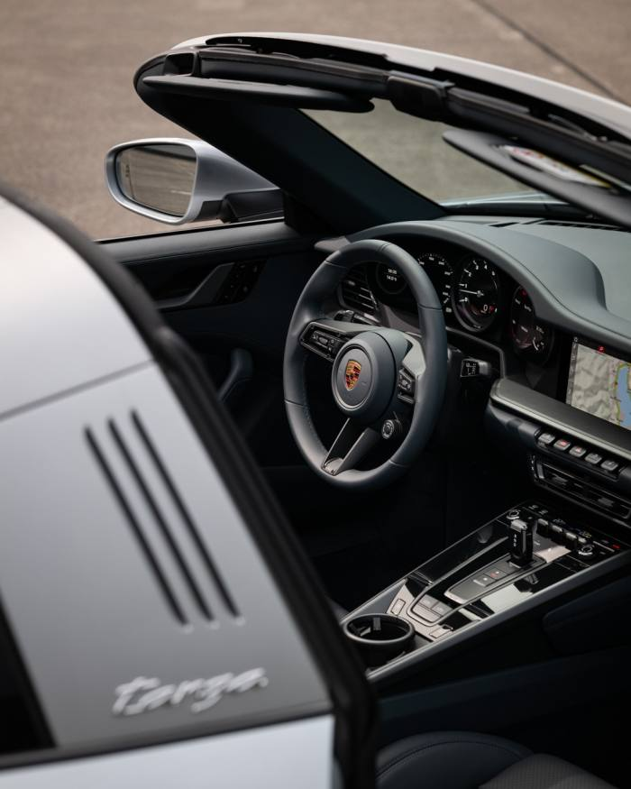 Both the 911 Targa 4 and 4S have four-wheel-drive