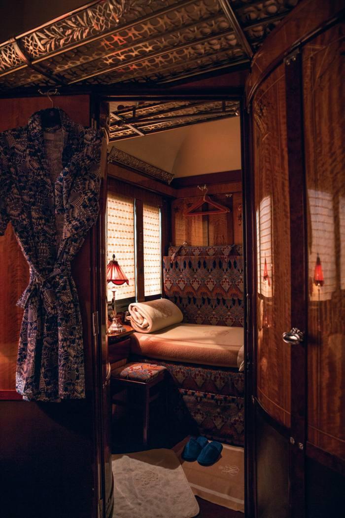 "A double cabin – ""more compact, but no less sumptuous"""