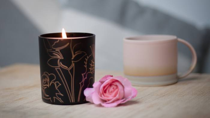 Tea Rose Candle by Noble Isle