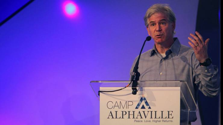 Enron CFO Andy Fastow at Camp Alphaville (RIP) in 2015