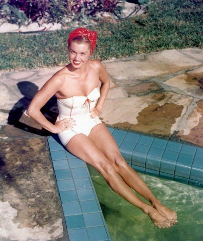 Competitive swimmer and actress Esther Williams in 1947