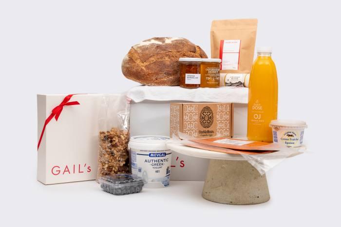 """Christmas breakfast sorted"": Gail's hamper"