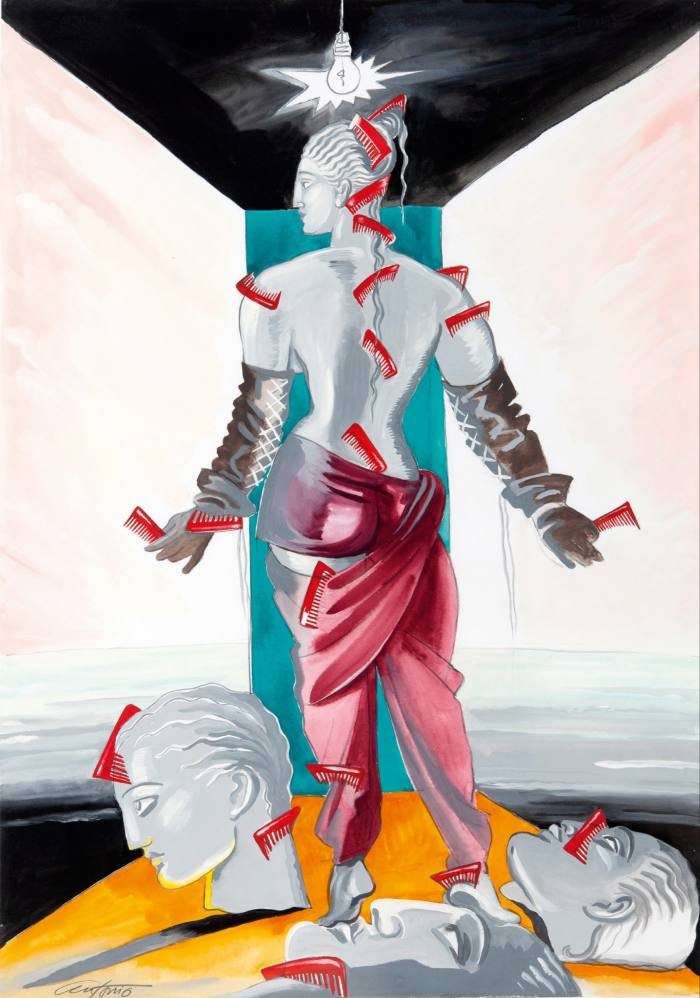 Jean Paul Gaultier for Vanity Fair by Antonio Lopez, £20,000, from Gray MCA