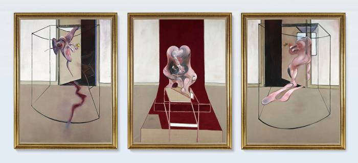 Francis Bacon's 'Triptych Inspired by the Oresteia of Aeschylus' (1981) sold for $84.6m — the highest public price of 2020