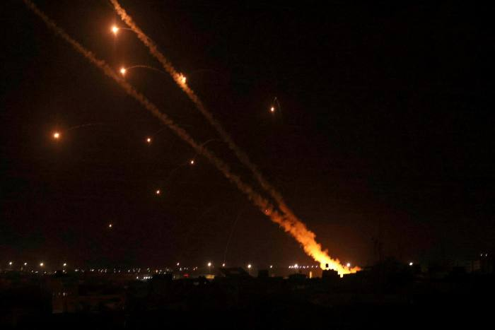 After several days of tension in Jerusalem, the militant group that runs Gaza fired a rocket at the city on Monday night, the longest distance it has reached Israel since 2014