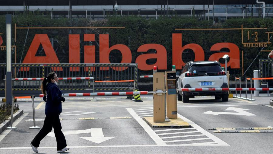Alibaba shares soar after record antitrust fine – Financial Times