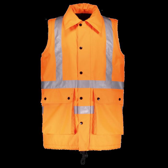 Railway worker's waistcoat byBurberry, 2018
