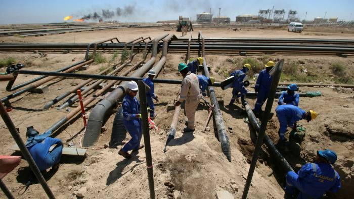 ExxonMobil's West Qurna oilfield near Basra, Iraq
