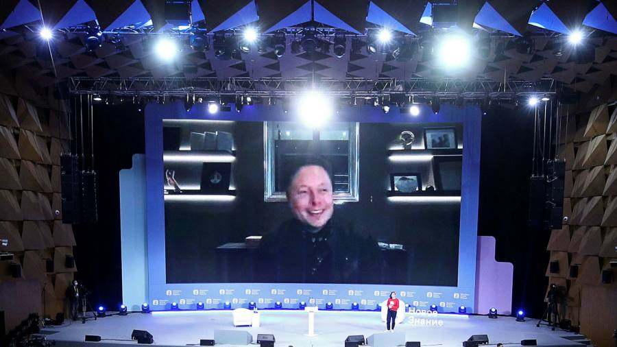 Elon Musk tells Moscow conference Tesla considering Russia expansion thumbnail