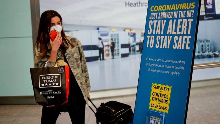 Priti Patel presses on with UK quarantine programme | Financial Times