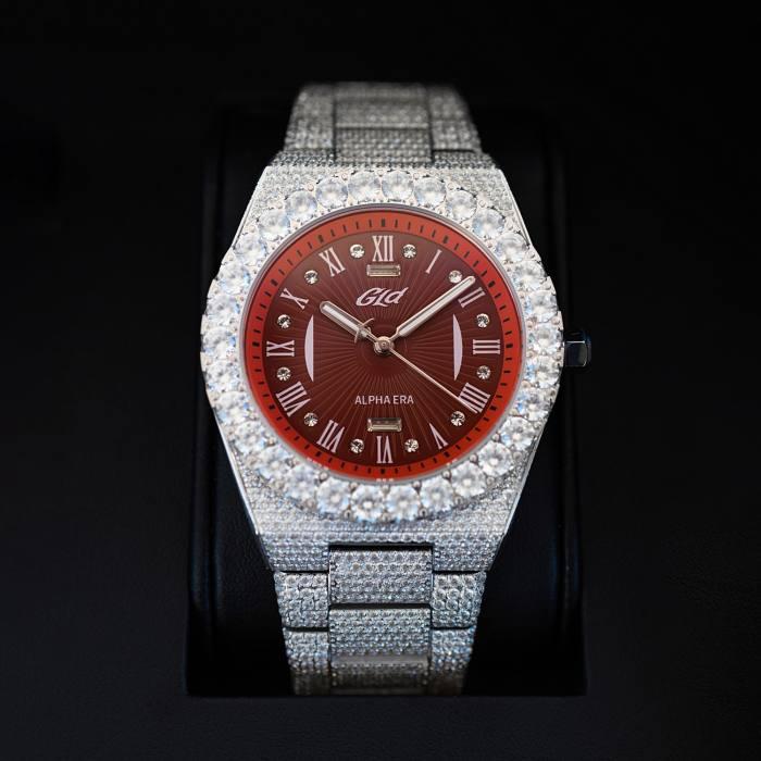 GLD steel Iced Alpha Era watch, $899