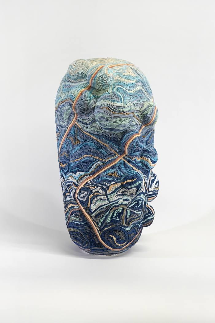 Walton's porcelain Linn Ribbons sculpture