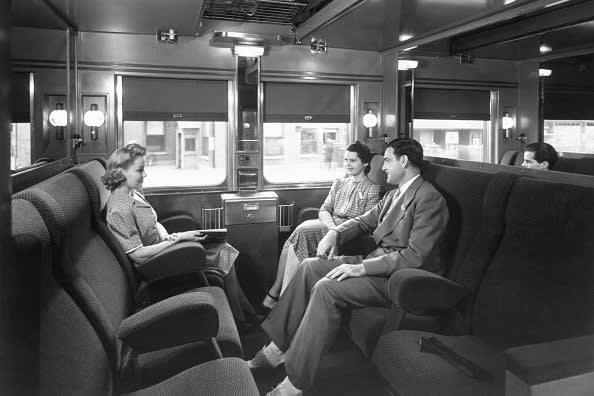 Sleeper cars were popularised by entrepreneur George Pullman