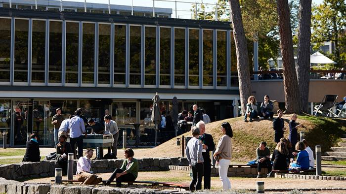 Number one: Insead's Fontainebleau campus in France