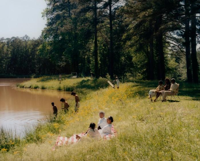 Riverside Scene, 2021, by Tyler Mitchell