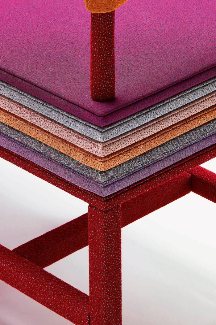 A Trifle Of Colour chair, 2020