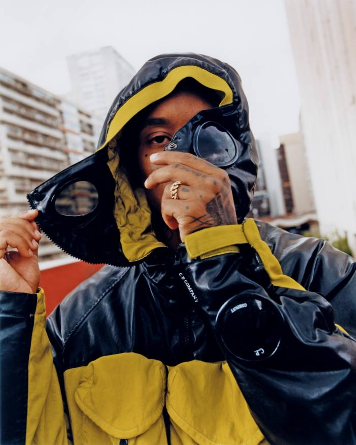 CP Company's signature goggle jacket