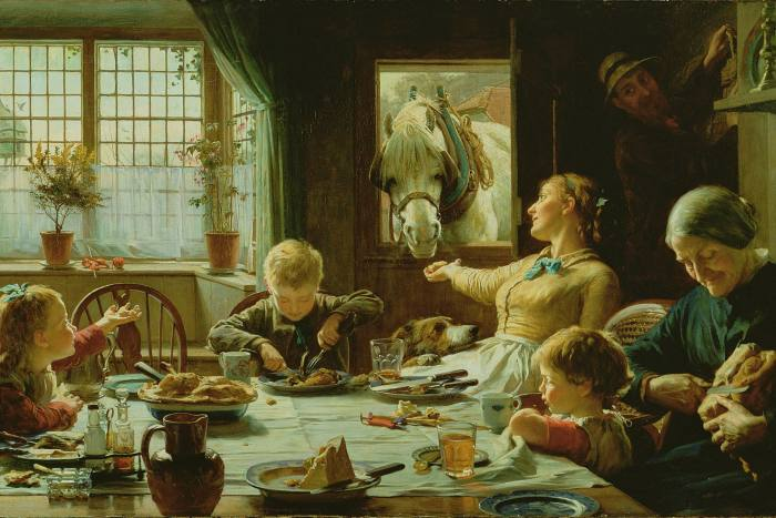 One of The Family, 1880 (oil on canvas) by Cotman, Frederick George
