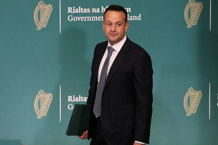 Taoiseach Leo Varadkar on Wednesday. The government could pay 70 per cent of wages in private companies