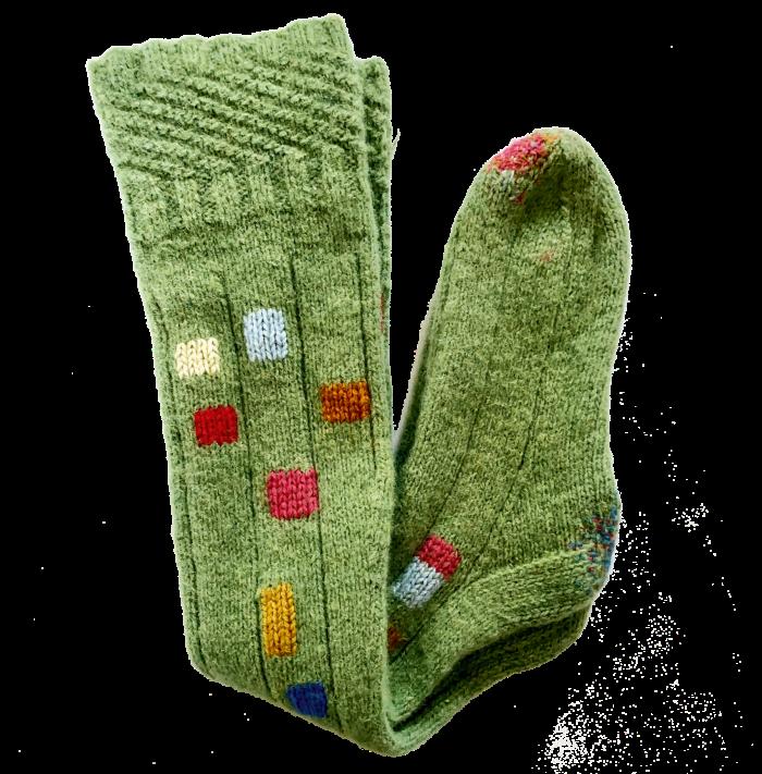 Angela Maddock repair-workshop socks